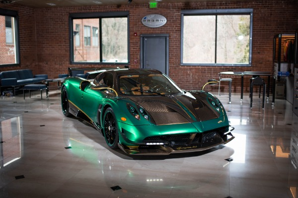 Used 2017 Pagani Huayra BC for sale Call for price at Aston Martin of Greenwich in Greenwich CT 06830 1
