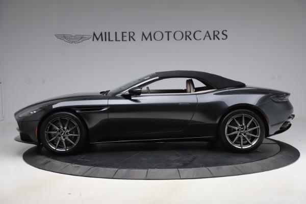 New 2021 Aston Martin DB11 Volante Convertible for sale $270,386 at Aston Martin of Greenwich in Greenwich CT 06830 12