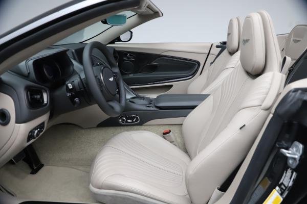 New 2021 Aston Martin DB11 Volante Convertible for sale $270,386 at Aston Martin of Greenwich in Greenwich CT 06830 18