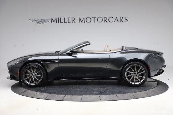 New 2021 Aston Martin DB11 Volante Convertible for sale $270,386 at Aston Martin of Greenwich in Greenwich CT 06830 2