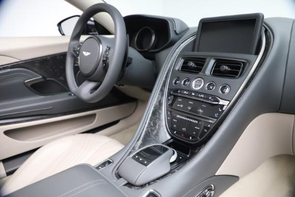 New 2021 Aston Martin DB11 Volante Convertible for sale $270,386 at Aston Martin of Greenwich in Greenwich CT 06830 23