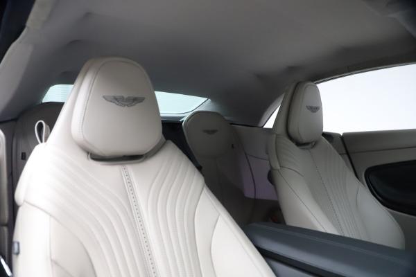 New 2021 Aston Martin DB11 Volante Convertible for sale $270,386 at Aston Martin of Greenwich in Greenwich CT 06830 25