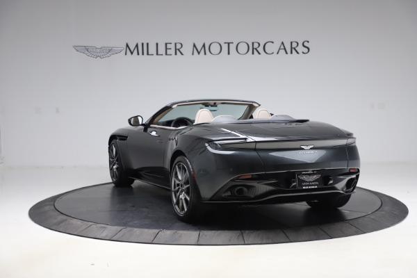 New 2021 Aston Martin DB11 Volante Convertible for sale $270,386 at Aston Martin of Greenwich in Greenwich CT 06830 4