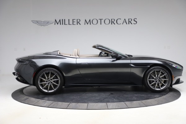 New 2021 Aston Martin DB11 Volante Convertible for sale $270,386 at Aston Martin of Greenwich in Greenwich CT 06830 7