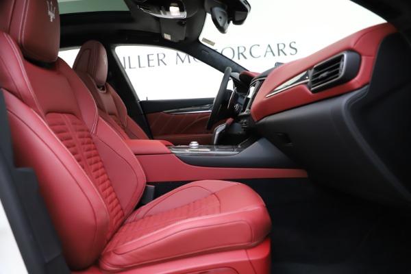 New 2021 Maserati Levante GTS for sale Call for price at Aston Martin of Greenwich in Greenwich CT 06830 22