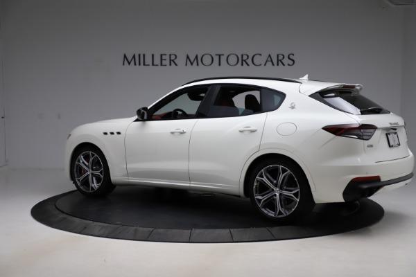 New 2021 Maserati Levante GTS for sale Call for price at Aston Martin of Greenwich in Greenwich CT 06830 4