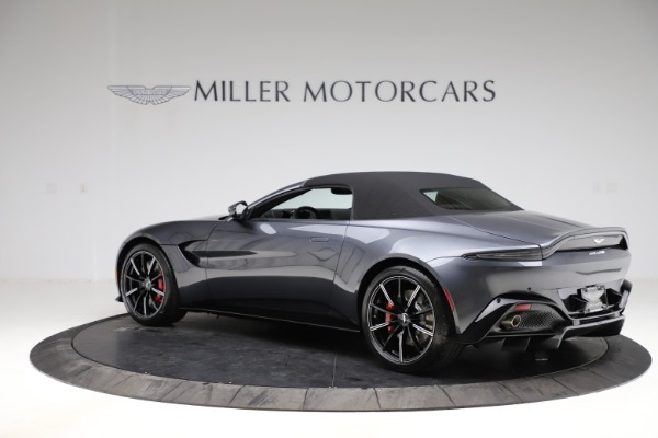 New 2021 Aston Martin Vantage Roadster Convertible for sale Sold at Aston Martin of Greenwich in Greenwich CT 06830 14
