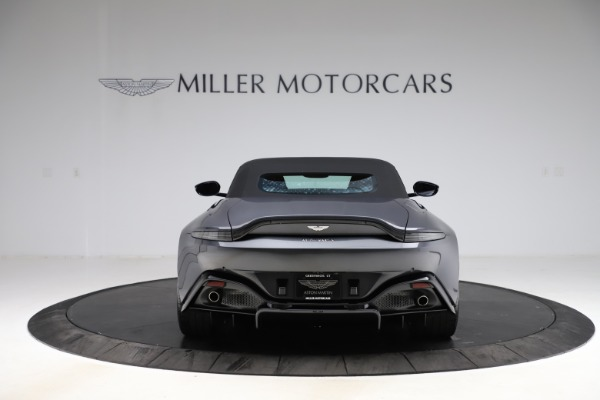 New 2021 Aston Martin Vantage Roadster Convertible for sale Sold at Aston Martin of Greenwich in Greenwich CT 06830 16
