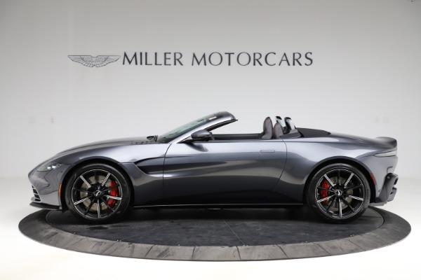 New 2021 Aston Martin Vantage Roadster Convertible for sale Sold at Aston Martin of Greenwich in Greenwich CT 06830 2