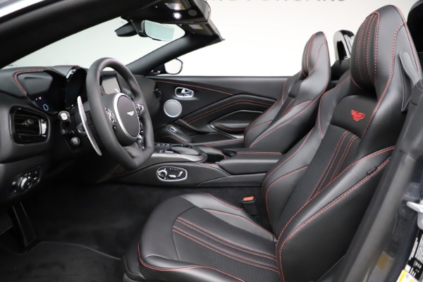 New 2021 Aston Martin Vantage Roadster Convertible for sale Sold at Aston Martin of Greenwich in Greenwich CT 06830 21