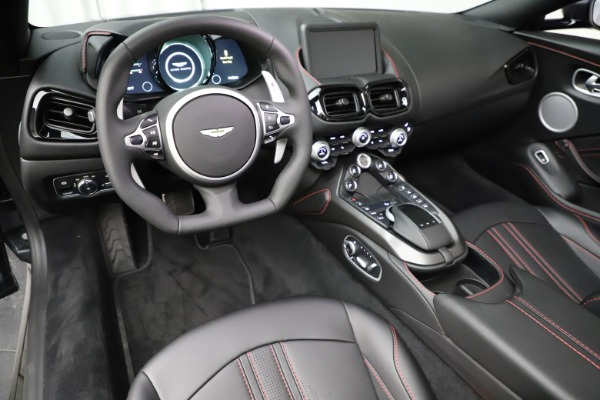 New 2021 Aston Martin Vantage Roadster Convertible for sale Sold at Aston Martin of Greenwich in Greenwich CT 06830 22