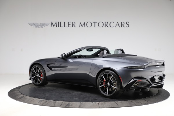 New 2021 Aston Martin Vantage Roadster Convertible for sale Sold at Aston Martin of Greenwich in Greenwich CT 06830 3