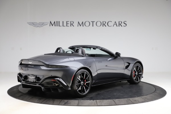 New 2021 Aston Martin Vantage Roadster Convertible for sale Sold at Aston Martin of Greenwich in Greenwich CT 06830 7