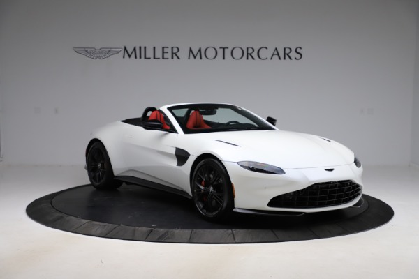 New 2021 Aston Martin Vantage Roadster Convertible for sale $189,186 at Aston Martin of Greenwich in Greenwich CT 06830 10
