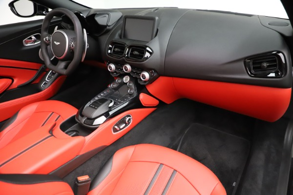 New 2021 Aston Martin Vantage Roadster Convertible for sale $189,186 at Aston Martin of Greenwich in Greenwich CT 06830 18