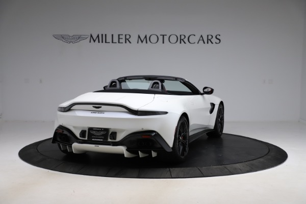New 2021 Aston Martin Vantage Roadster Convertible for sale $189,186 at Aston Martin of Greenwich in Greenwich CT 06830 6