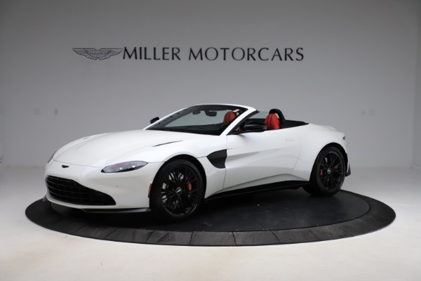 New 2021 Aston Martin Vantage Roadster Convertible for sale $189,186 at Aston Martin of Greenwich in Greenwich CT 06830 1