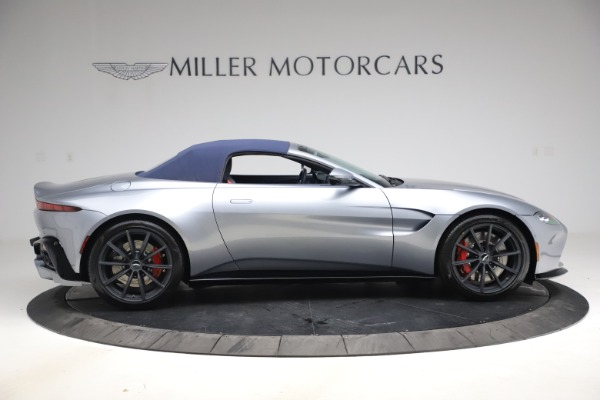 New 2021 Aston Martin Vantage Roadster Convertible for sale Sold at Aston Martin of Greenwich in Greenwich CT 06830 17