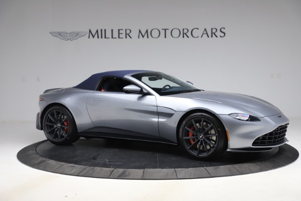 New 2021 Aston Martin Vantage Roadster Convertible for sale Sold at Aston Martin of Greenwich in Greenwich CT 06830 19