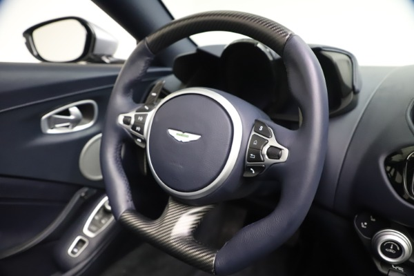 New 2021 Aston Martin Vantage Roadster Convertible for sale Sold at Aston Martin of Greenwich in Greenwich CT 06830 26