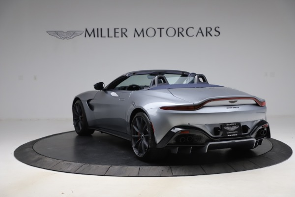 New 2021 Aston Martin Vantage Roadster Convertible for sale Sold at Aston Martin of Greenwich in Greenwich CT 06830 4