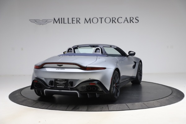New 2021 Aston Martin Vantage Roadster Convertible for sale Sold at Aston Martin of Greenwich in Greenwich CT 06830 6