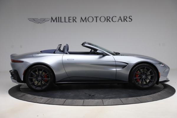 New 2021 Aston Martin Vantage Roadster Convertible for sale Sold at Aston Martin of Greenwich in Greenwich CT 06830 8