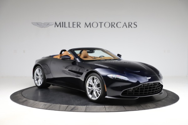 New 2021 Aston Martin Vantage Roadster Convertible for sale $205,686 at Aston Martin of Greenwich in Greenwich CT 06830 10