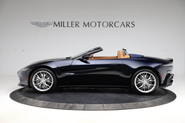 New 2021 Aston Martin Vantage Roadster Convertible for sale $205,686 at Aston Martin of Greenwich in Greenwich CT 06830 2