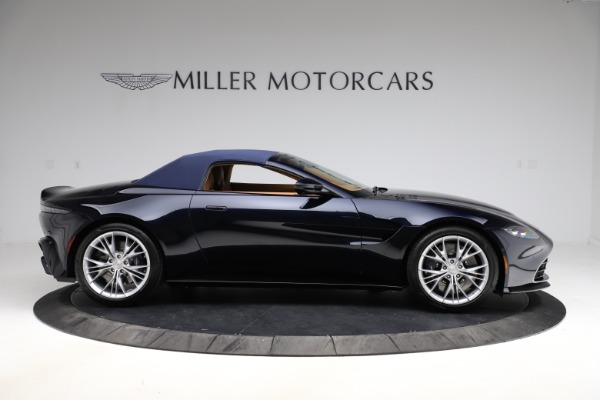 New 2021 Aston Martin Vantage Roadster Convertible for sale $205,686 at Aston Martin of Greenwich in Greenwich CT 06830 22