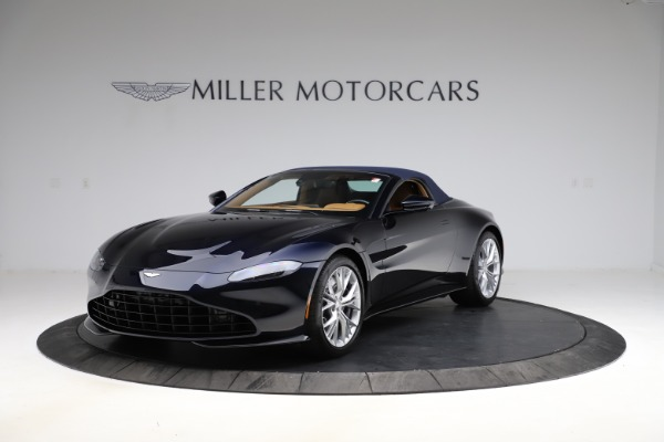New 2021 Aston Martin Vantage Roadster Convertible for sale $205,686 at Aston Martin of Greenwich in Greenwich CT 06830 24