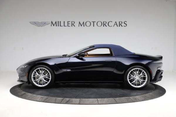 New 2021 Aston Martin Vantage Roadster Convertible for sale $205,686 at Aston Martin of Greenwich in Greenwich CT 06830 25
