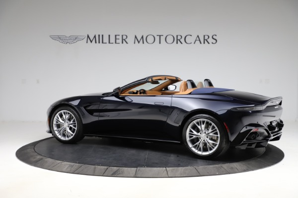 New 2021 Aston Martin Vantage Roadster Convertible for sale $205,686 at Aston Martin of Greenwich in Greenwich CT 06830 3