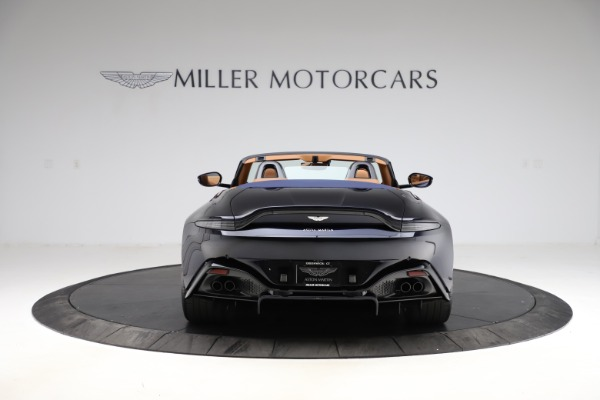 New 2021 Aston Martin Vantage Roadster Convertible for sale $205,686 at Aston Martin of Greenwich in Greenwich CT 06830 5
