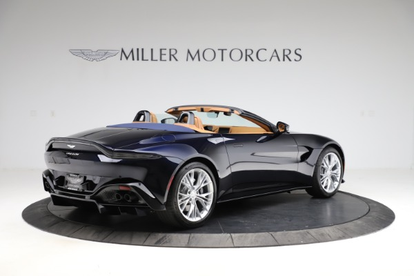 New 2021 Aston Martin Vantage Roadster Convertible for sale $205,686 at Aston Martin of Greenwich in Greenwich CT 06830 7