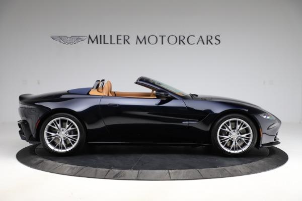 New 2021 Aston Martin Vantage Roadster Convertible for sale $205,686 at Aston Martin of Greenwich in Greenwich CT 06830 8