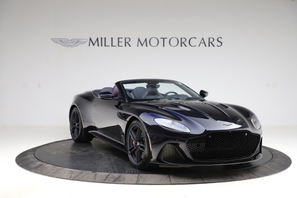 New 2021 Aston Martin DBS Superleggera Volante for sale $402,286 at Aston Martin of Greenwich in Greenwich CT 06830 10
