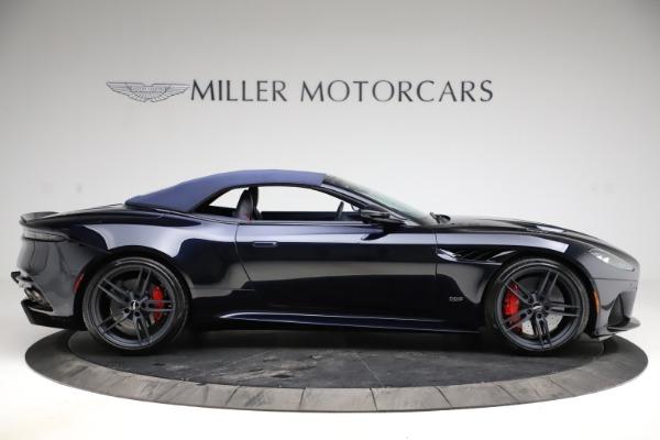 New 2021 Aston Martin DBS Superleggera Volante Convertible for sale $402,286 at Aston Martin of Greenwich in Greenwich CT 06830 12