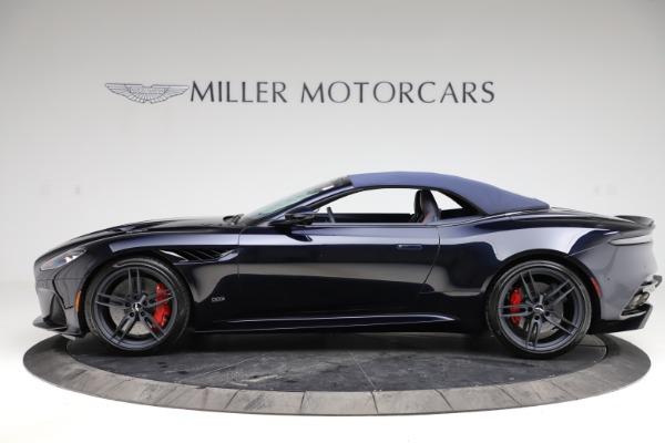 New 2021 Aston Martin DBS Superleggera Volante Convertible for sale $402,286 at Aston Martin of Greenwich in Greenwich CT 06830 17