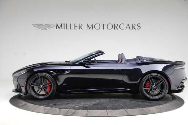 New 2021 Aston Martin DBS Superleggera Volante for sale $402,286 at Aston Martin of Greenwich in Greenwich CT 06830 2