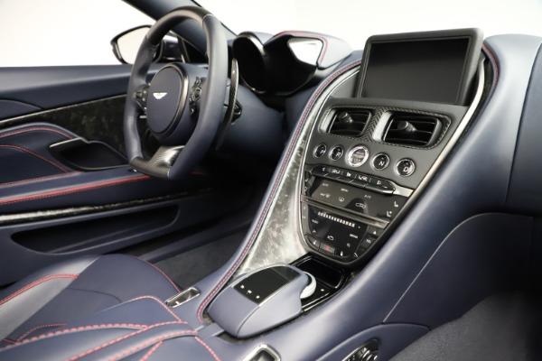 New 2021 Aston Martin DBS Superleggera Volante Convertible for sale $402,286 at Aston Martin of Greenwich in Greenwich CT 06830 24