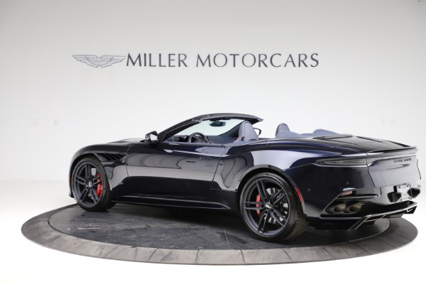 New 2021 Aston Martin DBS Superleggera Volante for sale $402,286 at Aston Martin of Greenwich in Greenwich CT 06830 3