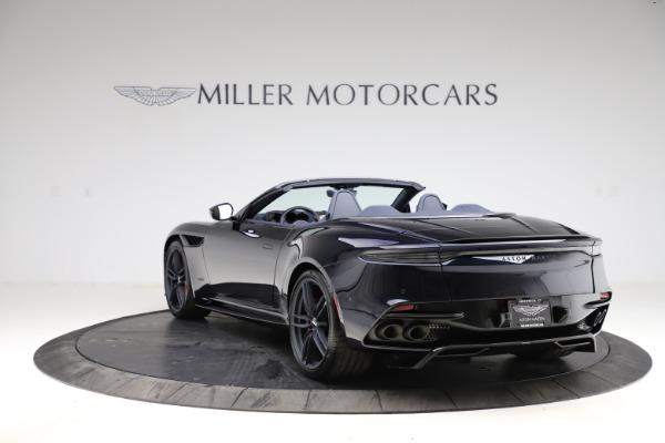 New 2021 Aston Martin DBS Superleggera Volante Convertible for sale $402,286 at Aston Martin of Greenwich in Greenwich CT 06830 4