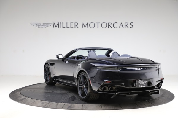 New 2021 Aston Martin DBS Superleggera Volante for sale $402,286 at Aston Martin of Greenwich in Greenwich CT 06830 4