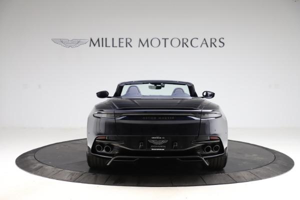 New 2021 Aston Martin DBS Superleggera Volante Convertible for sale $402,286 at Aston Martin of Greenwich in Greenwich CT 06830 5