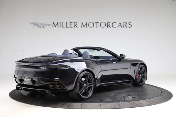 New 2021 Aston Martin DBS Superleggera Volante Convertible for sale $402,286 at Aston Martin of Greenwich in Greenwich CT 06830 7