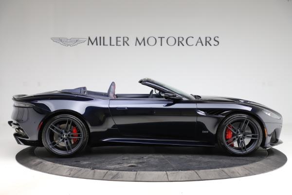 New 2021 Aston Martin DBS Superleggera Volante Convertible for sale $402,286 at Aston Martin of Greenwich in Greenwich CT 06830 8