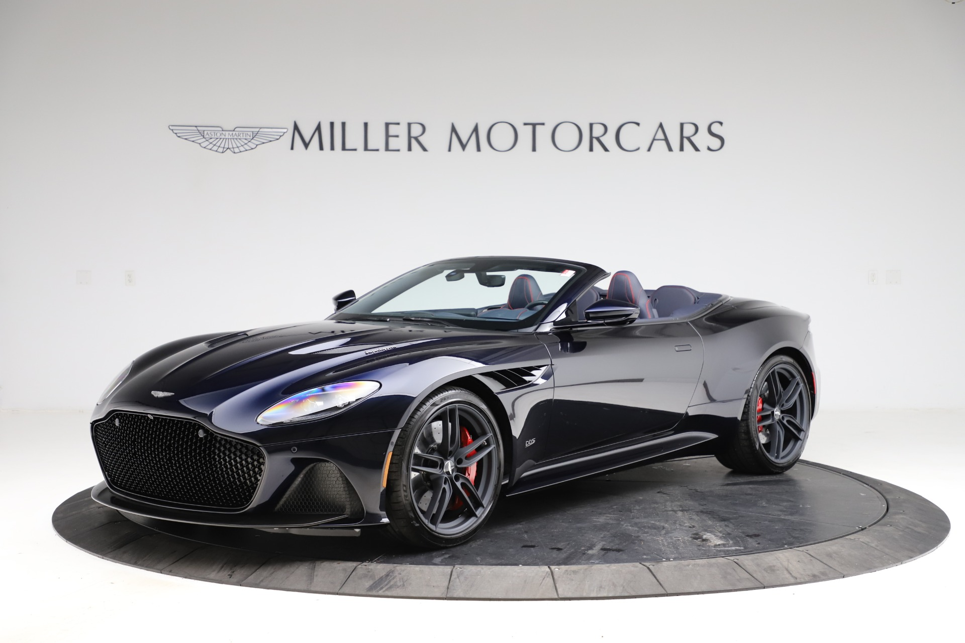 New 2021 Aston Martin DBS Superleggera Volante for sale $402,286 at Aston Martin of Greenwich in Greenwich CT 06830 1
