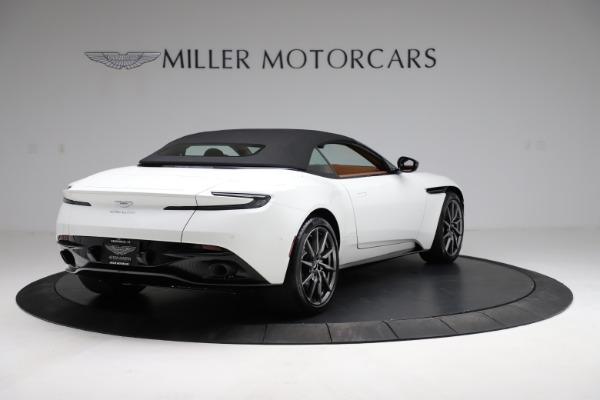 New 2021 Aston Martin DB11 Volante for sale $269,486 at Aston Martin of Greenwich in Greenwich CT 06830 16