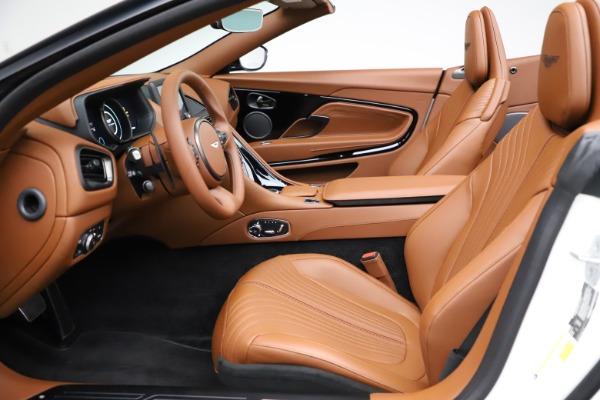 New 2021 Aston Martin DB11 Volante for sale $269,486 at Aston Martin of Greenwich in Greenwich CT 06830 19